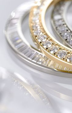 Rolex diamond bezels, set with baguette-cut diamonds, or brilliant-cut diamonds, selected by in-house master gem setters.