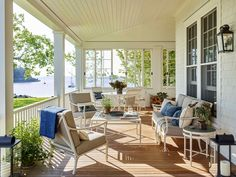 A Harbor-Front Cottage in Maine by Gil Schafer