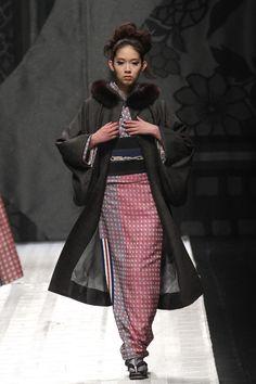 Jotaro Saito Kimono like dress and coat
