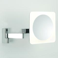Astro (0815) Niimi Square LED Illuminated Magnifying Mirror - IP44 Rated