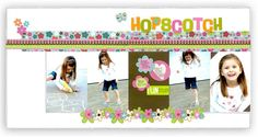 2 page scrapbook layout ideas | ... events with lots of pictures using these simple 2 page layout ideas