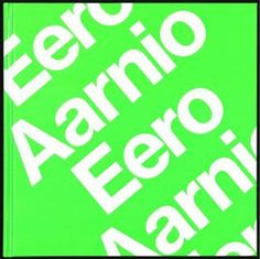 Eero Aarnio book, designed by Bond