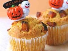 秘密にしたい☆ハロウィンかぼちゃマフィンの画像