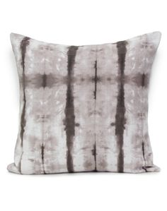 Stalactite has been lovingly hand dyed recreating the ancient Japanese technique of Shibori, then digitally printed by Sparkk. Available at The Pattern Collective