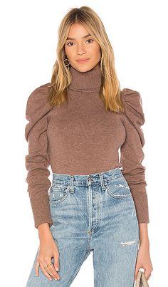 Tularosa Raelynn Sweater in Kangaroo   REVOLVE