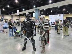 Nord from Elder Scrolls Online and the Ebony Warrior!