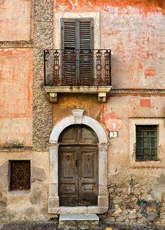 Ancient Entry, Abruzzo, Italy