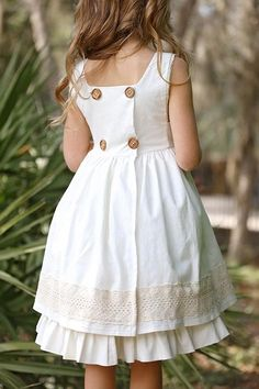 Isobel Top & Dress – Violette Field Threads Isobel Dress and Top Kids Frocks, Frocks For Girls, Dresses Kids Girl, Cute Dresses, Kids Outfits, Vintage Girls Dresses, Dress Girl, Spring Dresses For Girls, Baby Dresses
