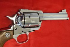 Stainless Ruger Revolver Polished to Chrome Like Mirror Finish