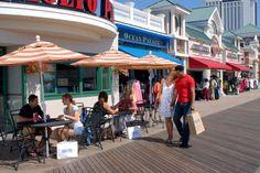 When it comes to New Jersey boardwalks, Atlantic City's 5.75-mile stretch makes it the longest boardwalk in the world.