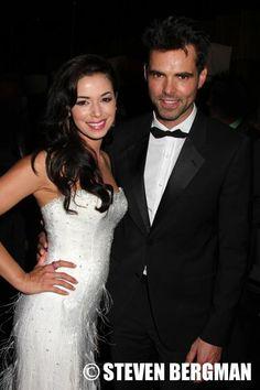 Teresa Castillo & Jason Thompson