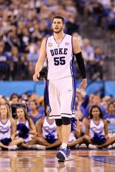 Brian Zoubek - After watching him for so long then seeing him come on in the ACC tourney and the NCAA was great. Wish it could have been a 4 year thing