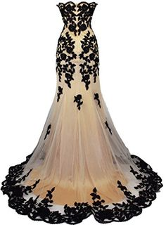 Meier Women's Strapless Lace Bead Formal Evening Gown  http://www.artydress.com/meier-womens-strapless-lace-bead-formal-evening-gown/