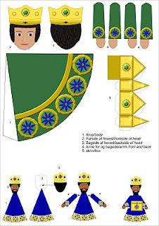 1000 images about three wise men crafts on pinterest for Three wise men craft