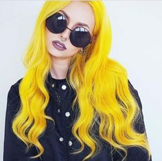 Sunburst Yellow hair anyone? Tag Sparks Color to show us what you've created!