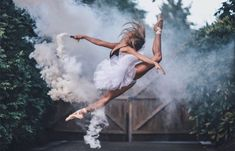 Isabella Fonte by Brandon Woelfel Smoke Bomb Photography, Dance Photography Poses, Dance Poses, Ballet Pictures, Dance Pictures, Yoga Dance, Dance Art, Jazz Dance, Rauch Fotografie