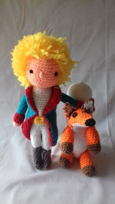 The little Prince,Amigurumi,le petit prince,fox toy,Gift for kids,toys, baby,kids,prince toy,crochet prince,littleprince,present,collection de GMmasDesign en Etsy