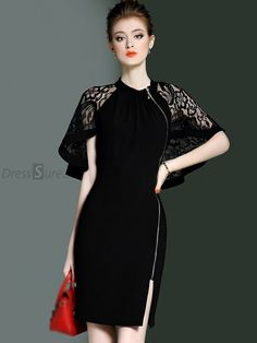 Let Our Commodities Go To The World e8 2019 Women Summer Sexy Lace Party Night Dresses Fashion Vintage Casual Elegant Zippers Mini Dress