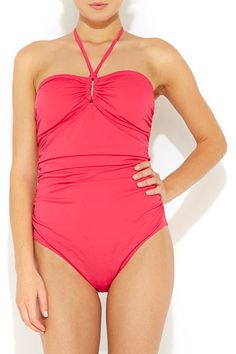 Pink Swimsuit #WallisFashion
