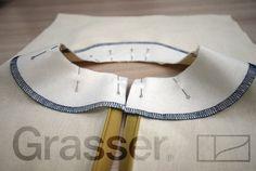 Технология пошива. Обработка обтачкой. Мастер-класс от школы шитья GRASSER.