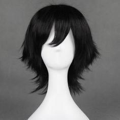 Cosplay Anime, Cosplay Wigs, Cosplay Costumes, Kawaii Hairstyles, Up Hairstyles, Drawing Hair Tutorial, Black Butler Cosplay, The Prince Of Tennis, Black Wig