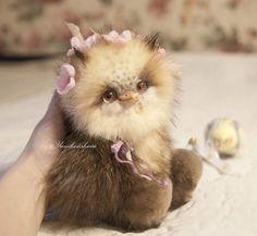 Owl Marika By Marina Yamkovskaia - Bear Pile