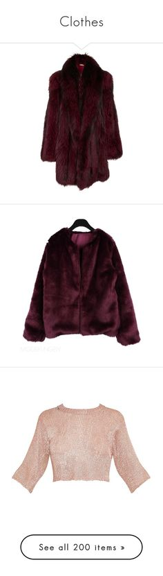 """Clothes"" by arina-bianca ❤ liked on Polyvore featuring outerwear, coats, jackets, fur, michael kors, red, silver cape, red fox fur coat, michael kors cape and red cape"