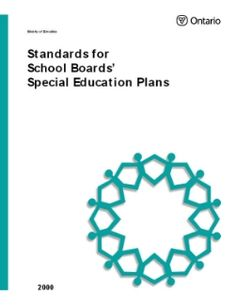Ontario Ministry of Education Publications Education Policy, Education For All, Ministry Of Education, Education System, Career Education, Special Education, Individual Education Plan, Inclusive Education, Teaching Profession