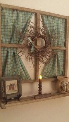 Unique Tips Can Change Your Life: Entryway Wall Decor entryway wall decor.Silver Bathroom Wall Decor With Mirror. Primitive Windows, Primitive Homes, Country Primitive, Primitive Decor, Primitive Christmas, Easy Primitive Crafts, Primitive Snowmen, Country Christmas, Christmas Christmas