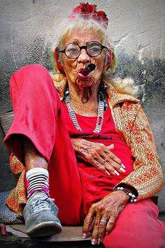 Granny with an attitude