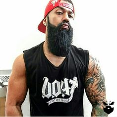 @beardedbadboys on Instagram and facebook. Beards babes and badasses. Bearded Bad Boys