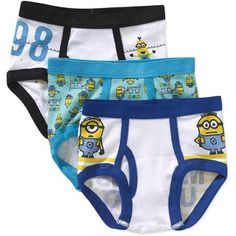 Despicable Me Toddler Boys Underwear - 3 Pack