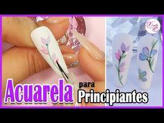 👉 Aprende a DECORAR Uñas 💜 FÁCILES e INCREIBLES Técnicas de NAIL ART - YouTube Can Opener, Nails, Peru, Mini, Youtube, Paper, Paint Flowers, Nail Art Designs, Finger Nails