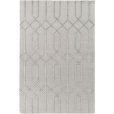 Lydia Wool Rug ~ Medium Gray