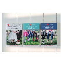 Boek omslag ontwerp - 5 talen van de liefde - Studio Vrolijk grafisch ontwerp Harderwijk - www.studiovrolijk.nl