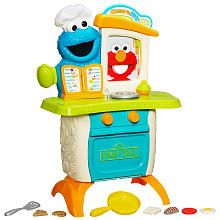 Playskool Sesame Street Cookie Monster Kitchen Cafe Playset