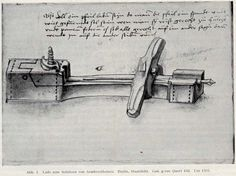 Tool for making fletching grooves in crossbow bolts. Löffelholz Codex (1505)