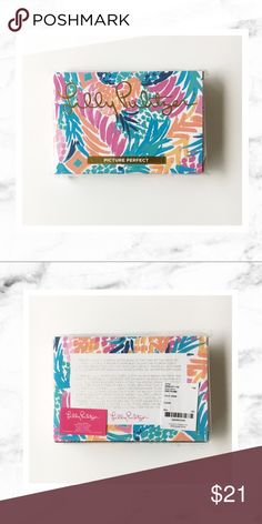 """Lilly Pulitzer Photo Frame Lilly Pulitzer photo frame, acrylic, in Goombay Smashed print from the spring/summer 2017 collection. New in box and plastic still - never used! Fits a 4x6"""" photo. This was a gift with purchase by was being sold at the recent Lilly Pulitzer After Party Sale. Lilly Pulitzer Accessories"""