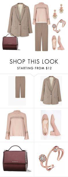 """look formal"" by aliciagorostiza on Polyvore featuring moda, MANGO, River Island y Givenchy"
