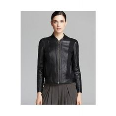 HELMUT LANG Jacket Washed Leather and Sweatshirt Combo  SPECIAL PRICE $438.55 via savoirmode.com  #savoirmode #fashion #look #deals #firstmarkdown #freshdeals #shop #helmutlang #leather #jacket