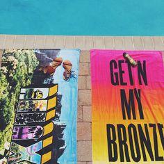 All summer.  get'n my bronze on!  love it!