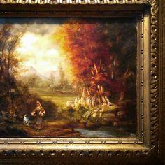 Flemish. #flemish #hot #colors #painting #hotpaint #hotcolors #frames #antique #ancient #arsenalepiu #wood #vegetarian #gold #wunderkammer