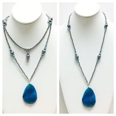 New Convertible Collection Hematite & Agate