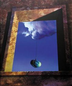 Titolo: Silenziose atmosfere 2 - cm 120x100 - 2005 Ossola Raffaello
