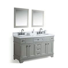 Legion Furniture 60-inch Double Sink Vanity with