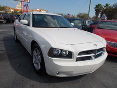 White Dodge Charger