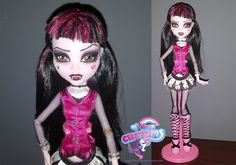 Shadow Draculaura custom from 13 wishes by angel99percent on DeviantArt