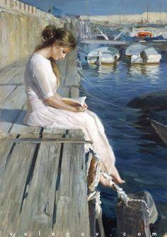 Volegov.com :: THE ONE WHO CREATES DREAMS, painting