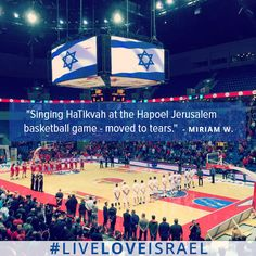 #LiveLoveIsrael featured photo by NBN Miriam Wallach. (She got game.)
