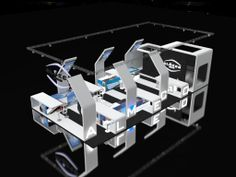 almeco - solar exhibition stand design documentation central europe  documentation rates> http://www.i-cad.es/stands-documentation/